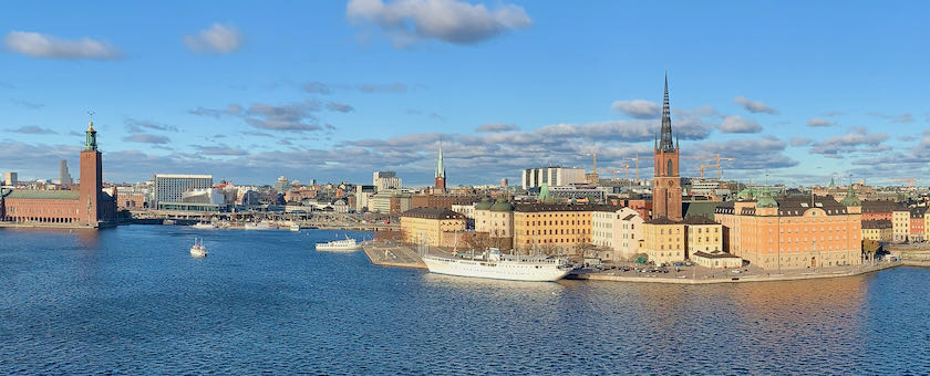 (Part of the) Stockholm skyline